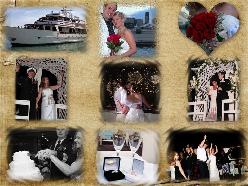 Chicago Wedding Cruises aboard VALARA